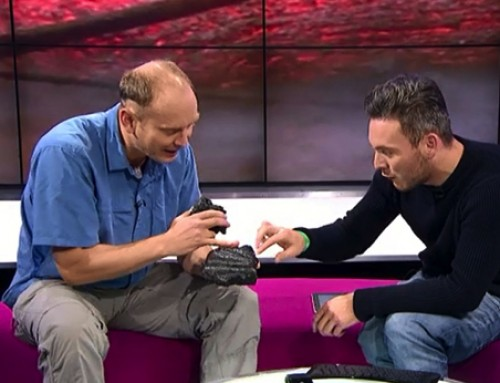 Explaining Volcanoes on Newsround